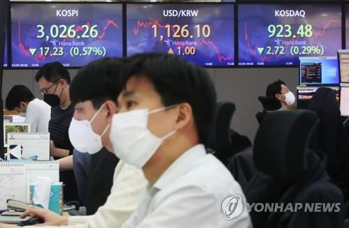 Seoul stocks slide for 2nd day on inflation concerns