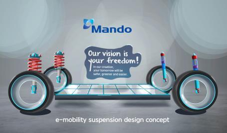 Mando to supply suspension systems to Volkswagen