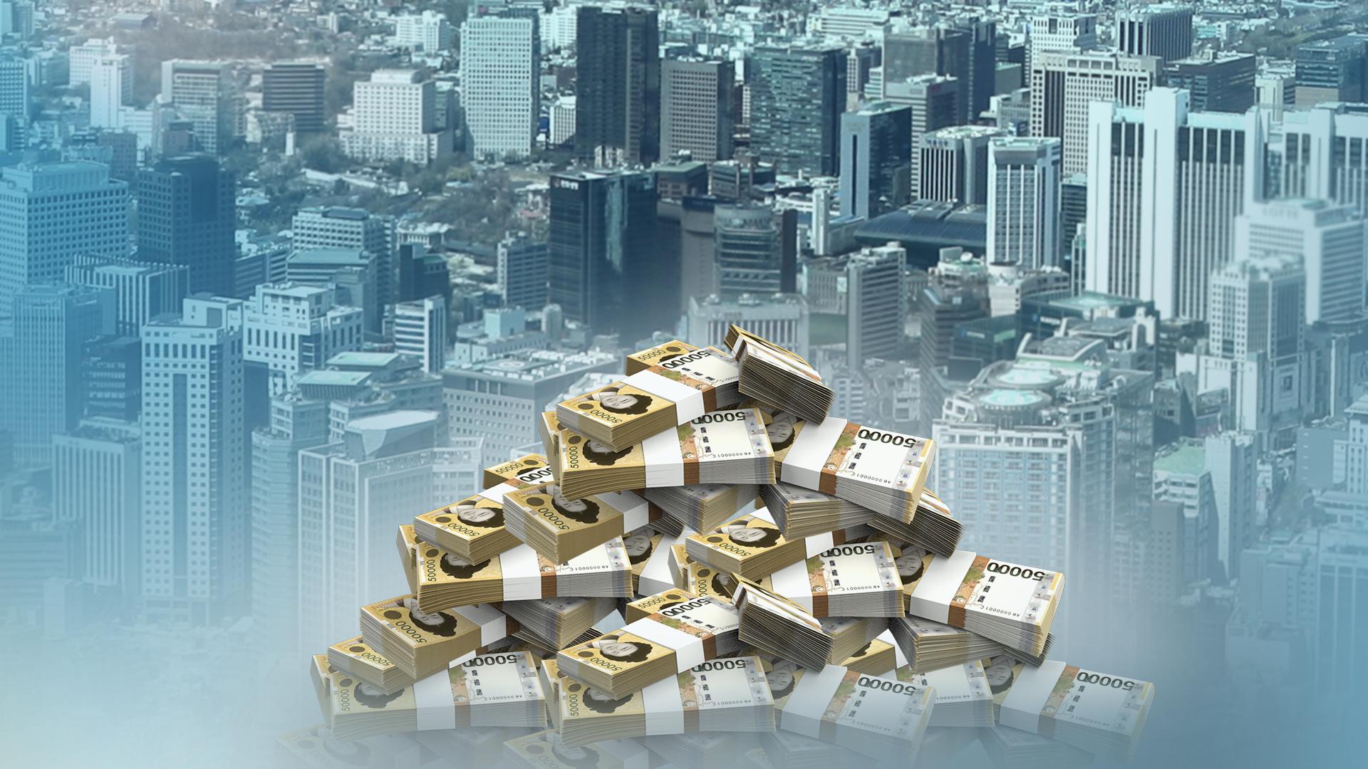 Tax revenue up 8.7 tln won in February